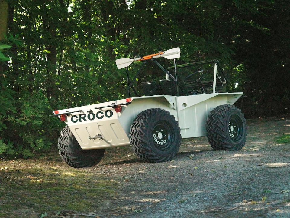 Road registered,1983 Croco TAG Amphibious 4x4