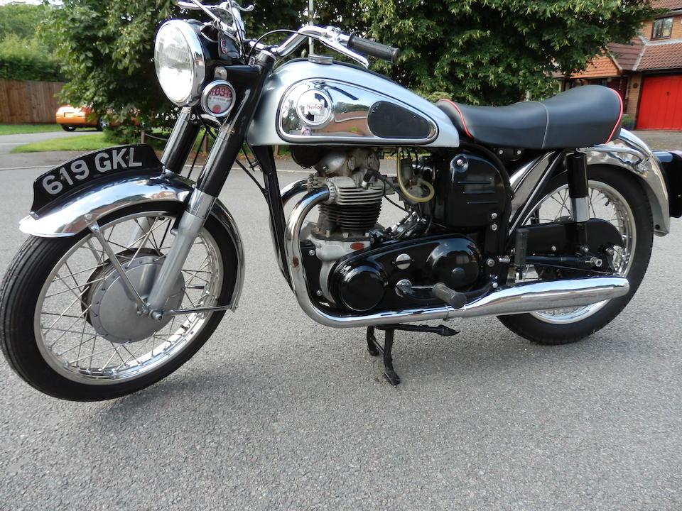 1959 Norton 497cc Dominator 88 Frame no. P122 82599 Engine no. P122 82599