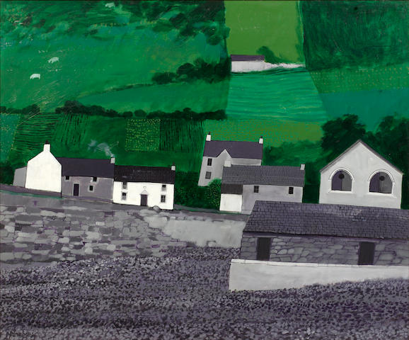 David Humphreys (British, born 1937) Port Quin, North Cornwall