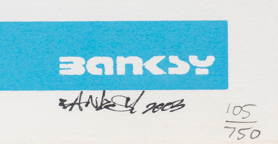 Banksy (b. 1975) Happy Choppers  2003