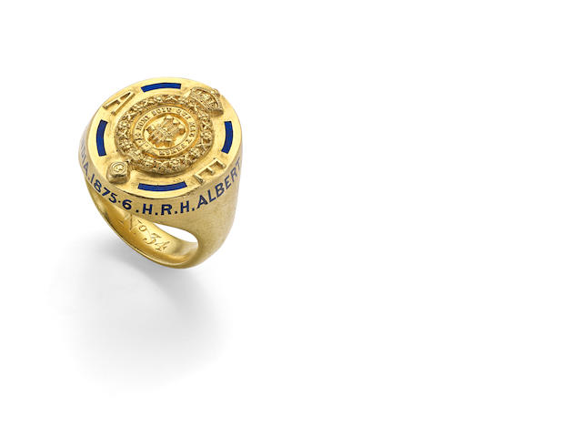 Of Royal Interest: An enamelled signet ring