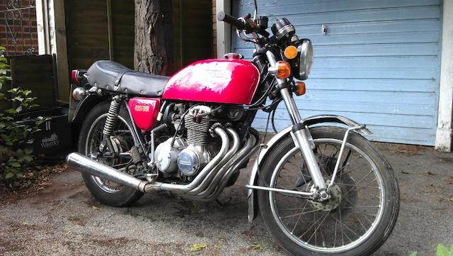 Property of a deceased's estate,1975 Honda CB400F Frame no. CB400F-1041764 Engine no. CB400F-E-1044686