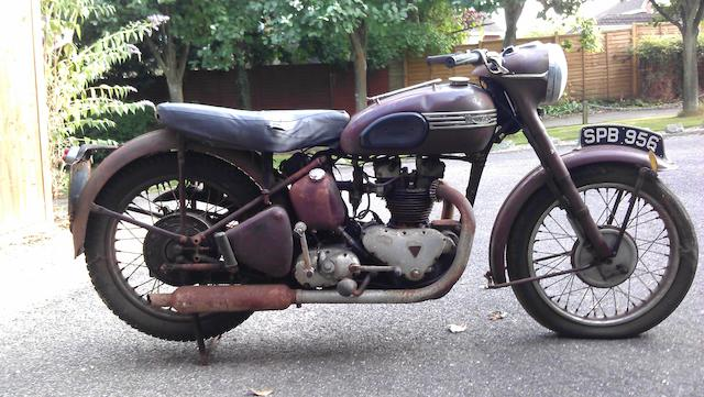 1952 Triumph Speed Twin 5T