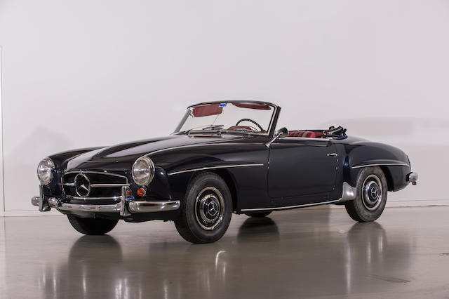 1960 Mercedes-Benz 190SL Roadster  Chassis no. 121 040 10 017 157 Engine no. 121.920.751 90 45