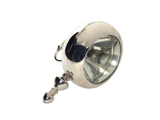 A Stephen Grebel spotlamp, French, 1930s,