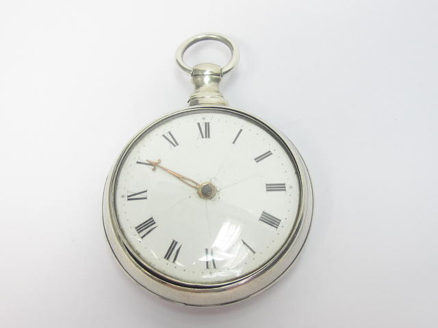 A pair-cased pocket watch, by Litherland of Liverpool, Chester 1810
