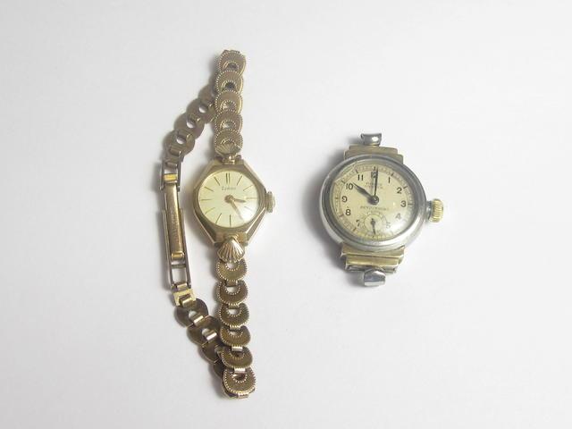 A lady's 'Oyster' wristwatch, by Rolex