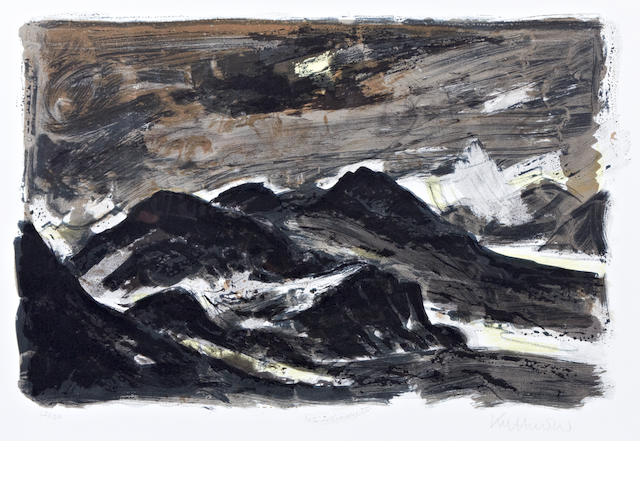 Sir Kyffin Williams R.A. (British, 1918-2006) Ogwen Valley