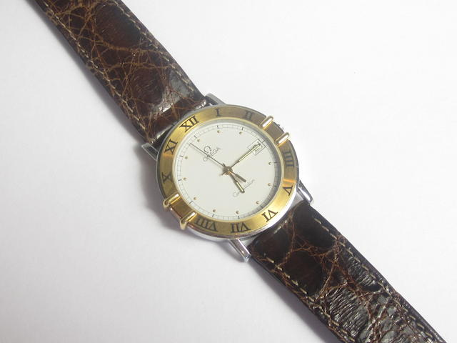 A gentleman's 'Constellation' wristwatch, by Omega, 1990