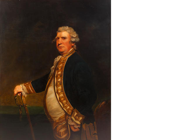 After Sir Joshua Reynolds, PRA, 19th Century Viscount Augustus Keppel