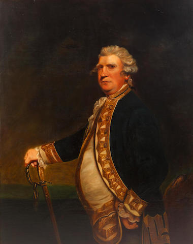 After Sir Joshua Reynolds, PRA, 19th Century Viscount Augustus Keppel
