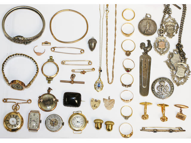 A large collection of jewellery and miscellaneous items,