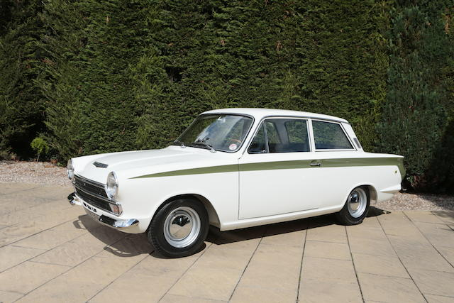 1966 Ford Lotus Cortina Mk1 Saloon  Chassis no. BA74FS59292