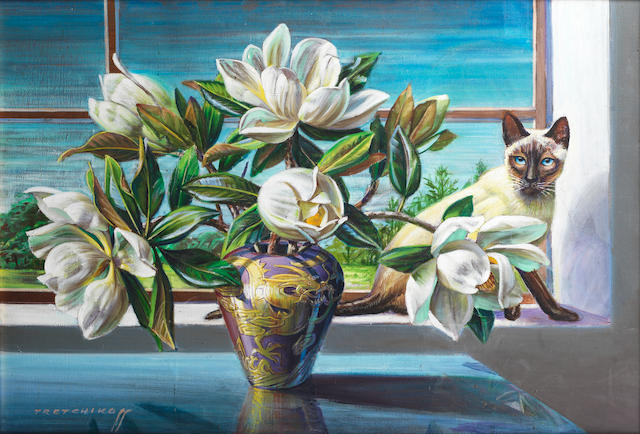 Vladimir Griegorovich Tretchikoff (South African, 1913-2006) Chico