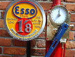 An Avery Hardoll model CH1 hand cranked one gallon petrol pump,