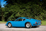 Property of a deceased's estate,1972 Ferrari Dino 246GT Berlinetta  Chassis no. 03672 Engine no. 03672
