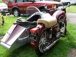 1957 Ariel 650cc Model FH Huntmaster Motorcycle Combination Frame no. PR3152 Engine no. MLF2596