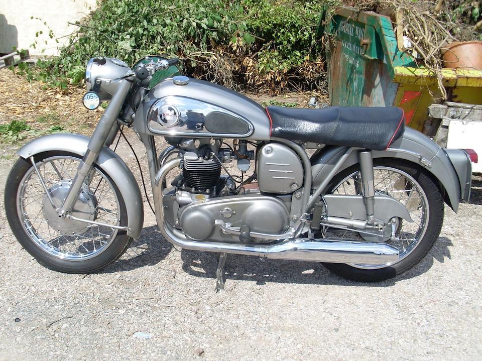 1957 Norton 596cc Dominator 99 Frame no. 71987 M14 Engine no. 71987 M14