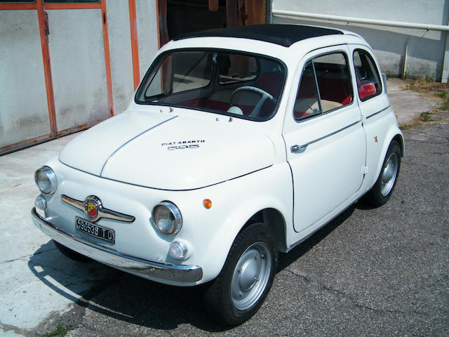 1963 FIAT-Abarth 595 Sports Saloon  Chassis no. 575584/00465