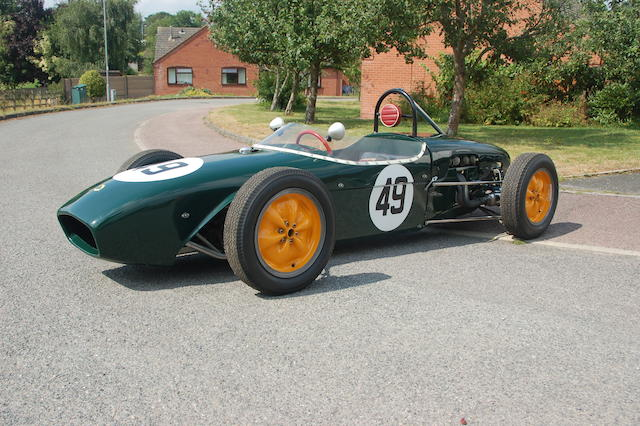1960 Lotus Type 18 Formula Junior Monoposto  Chassis no. 18-J-816 Engine no. 105E 63268