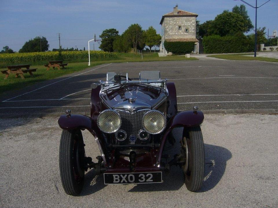 1935 Riley 9hp Imp Sports  Chassis no. 6027484 Engine no. 56014