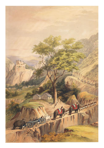 JACK (ALEXANDER) Six Views of Kot Kangra and the Surrounding Country. Sketches on the Spot, FIRST EDITION, 1847