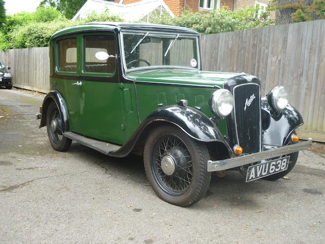 1934  Austin  10hp Lichfield Saloon  Chassis no. G46721 Engine no. IG47698