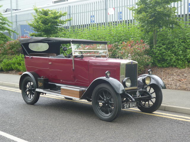 1928  Morris  Cowley 11.9hp Tourer  Chassis no. 246471 Engine no. 277422