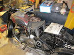 Property of a deceased's estate, one owner from new,c.1949 Ariel 350cc Red Hunter Frame no. RF221O Engine no. DJ1190