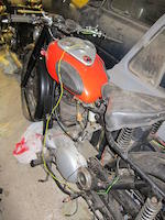 Property of a deceased's estate,c.1954 Ariel 350cc Red Hunter Frame no. KS3614 Engine no. BE1616