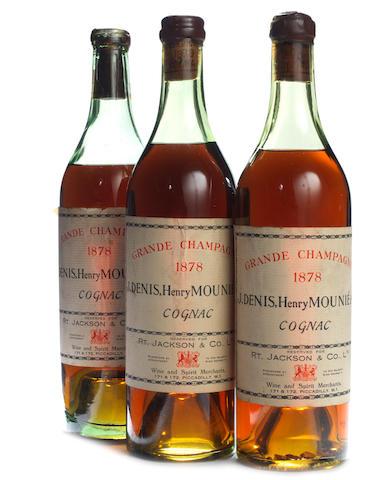 Denis Mounié Grande Champagne Cognac 1878 (1)