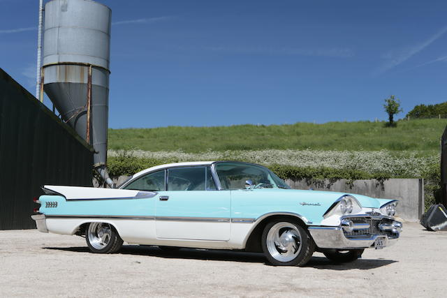 1959 Dodge Coronet Lancer Hardtop Coupé  Chassis no. M312130343 Engine no. 1737929