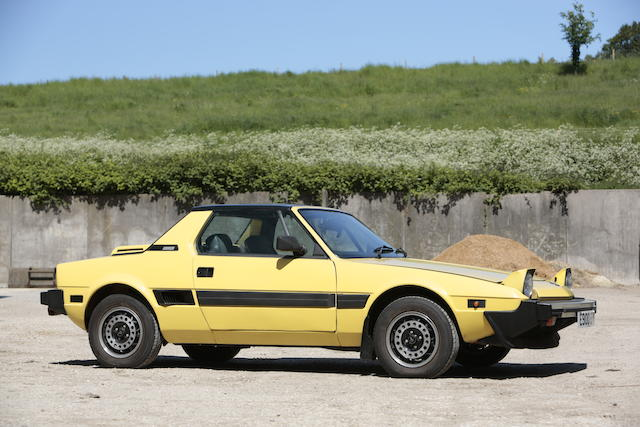 1988 FIAT X1/9 1500 Coupé  Chassis no. ZBB128AS007163202 Engine no. 6525938