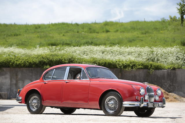1962 Jaguar Mk2 3.4-Litre Saloon  Chassis no. 159267DN Engine no. KH 8522-8
