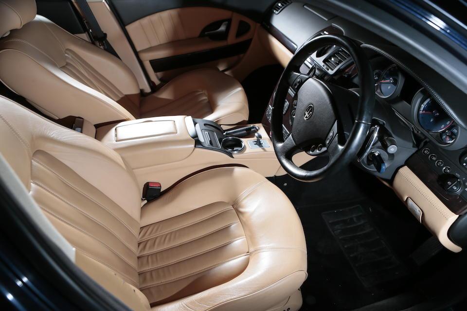 2004 Maserati Quattroporte AB4 SA Saloon  Chassis no. ZAMCD39C000013469 Engine no. 83694