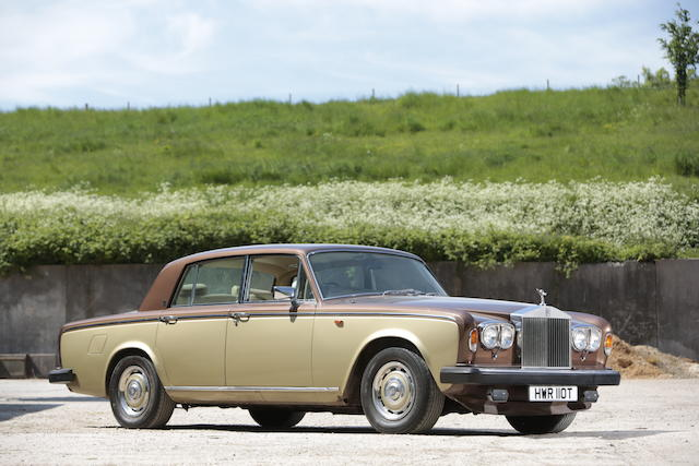 1979 Rolls-Royce Silver Shadow II Saloon  Chassis no. SRH 36895 Engine no. 36895