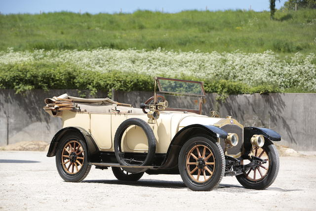 Formerly part of the Richard C Paine Jr Collection,1913 De Dion Bouton Type DX Touring  Chassis no. 337 Engine no. 11035C