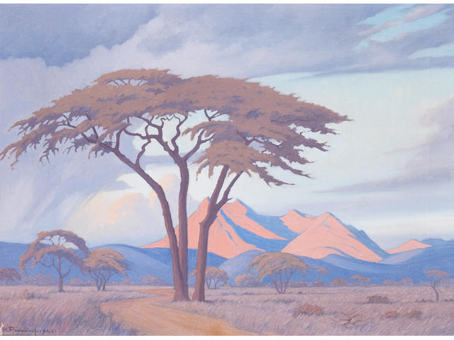 Jacob Hendrik Pierneef (South African, 1886-1957) Tabazimbi, Rustenburg