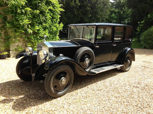 1932  Rolls-Royce  20/25hp Enclosed Limousine  Chassis no. GOS-22