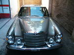 Left-hand drive,1972  Mercedes-Benz  300SEL 6.3 Sports Saloon  Chassis no. 10918-12-003411