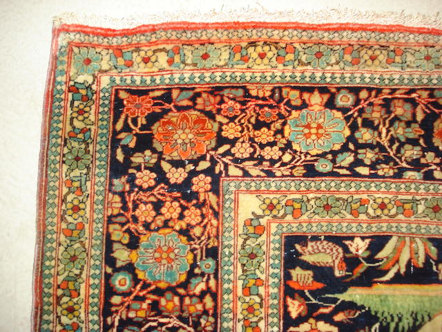 A Mohtashem Kashan rug, Central Persia, 188cm x 132cm