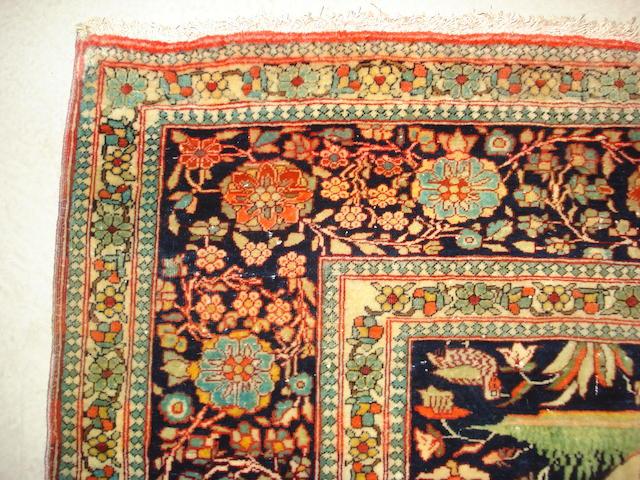 A Mohtashem Kashan rug, Central Persia, 188cm x 132cm