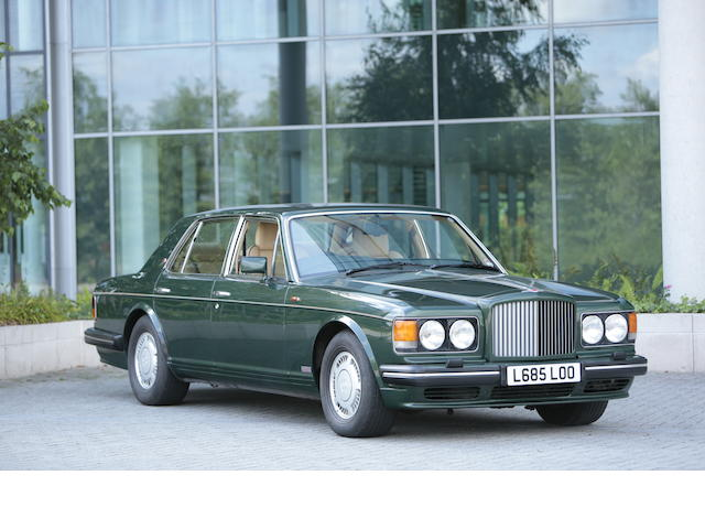 Property of a deceased's estate 1993 Bentley Turbo R Sports Saloon