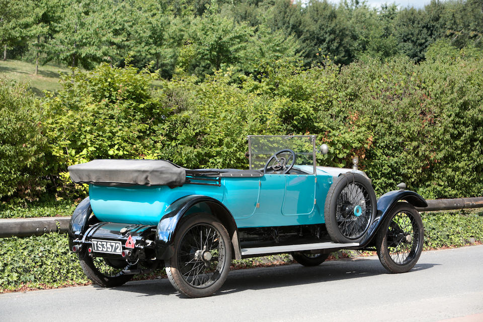 Property of a deceased's estate 1922 Vauxhall 25hp D-Type Tourer
