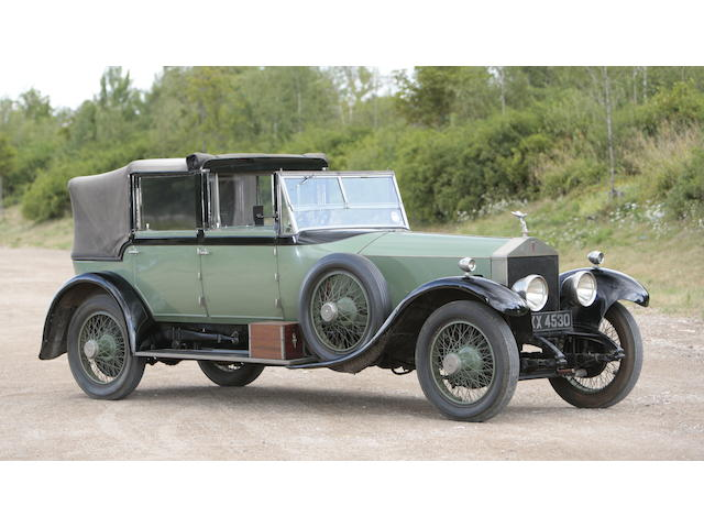 Property of a deceased's estate, the ex-Paris Motor Show 1924 Rolls-Royce 40/50hp Silver Ghost Cabriolet