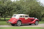 1935 Talbot BA105 Sports Tourer  Chassis no. 38817 Engine no. 95AV522