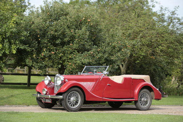 The property of renowned marque expert Bill Barrott,1935 Talbot BA105 Sports Tourer  Chassis no. 84556 Engine no. 85087