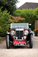 1934  MG Magnette NA  Allingham Drophead Coupé  Chassis no. N701 Engine no. 946AN