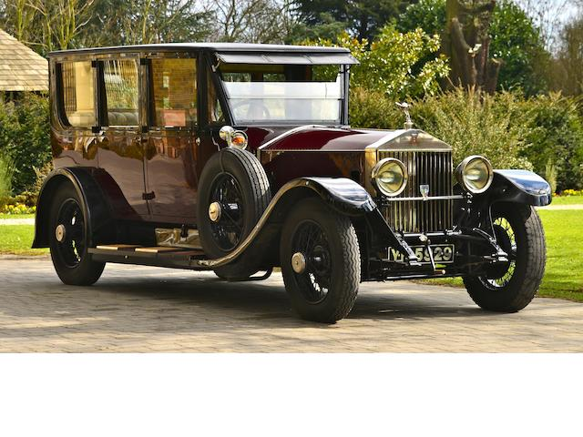 1927  Rolls-Royce  40/50hp Phantom I Limousine  Chassis no. 109NC Engine no. QJ55