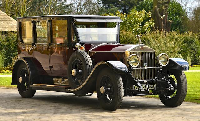 1927  Rolls-Royce  40/50hp Phantom I Limousine  Chassis no. 109NC Engine no. QJ55